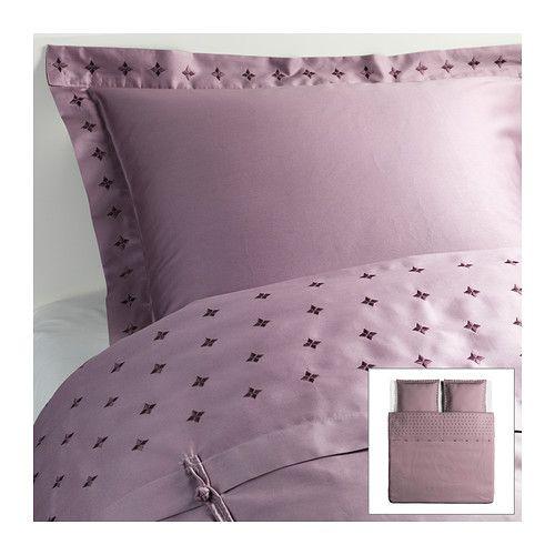 vinranka housse de couette et 2 taies 240x220 65x65 cm ikea home style pinterest. Black Bedroom Furniture Sets. Home Design Ideas