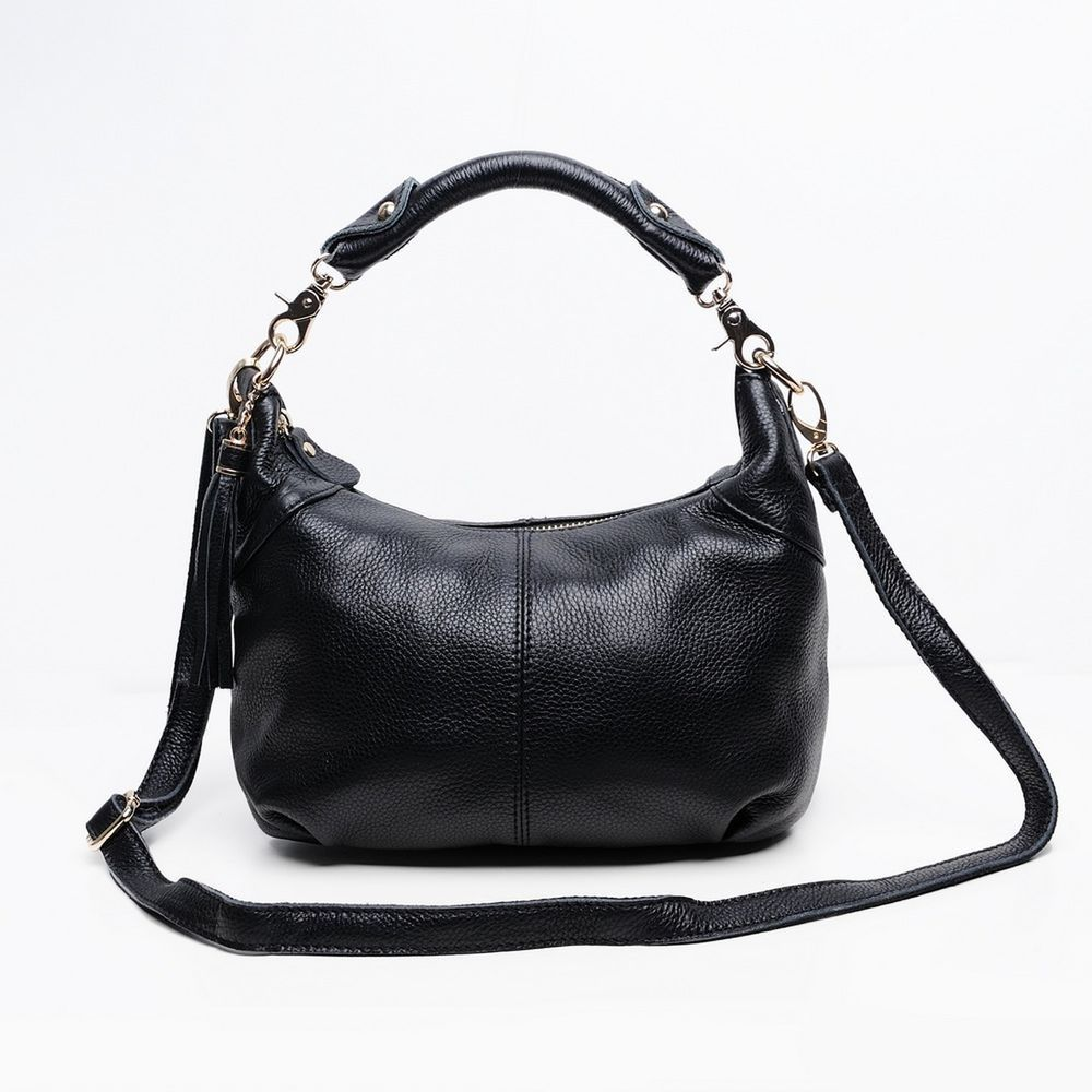 Candy color Fashion women Bags 100%Genuine Leather Women's Shoulder Handb... New #doesnotapply #Black