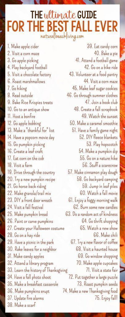 The Ultimate Guide for the Best Fall Ever - Fall Bucket List Printable The Ultim... #fallbucketlist
