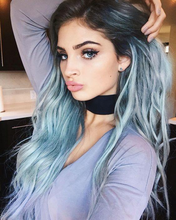 light blue hair color ideas