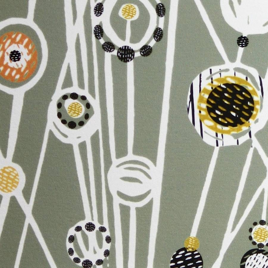 Small Sage Meadow Linocut Print