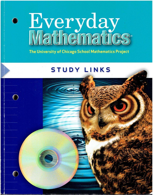 Everyday Mathematics 5 Study Links A C 2004 5th Grade Math Workbook Isbn 0076097420 Ma2 Everyday Mathematics Everyday Math Math Journals