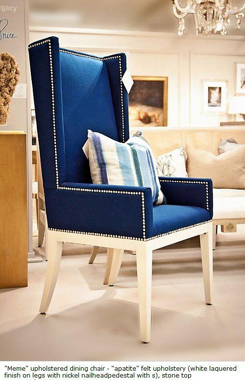 Blue Velvet Wingback Chair Blue Velvet Dining Chairs Leather