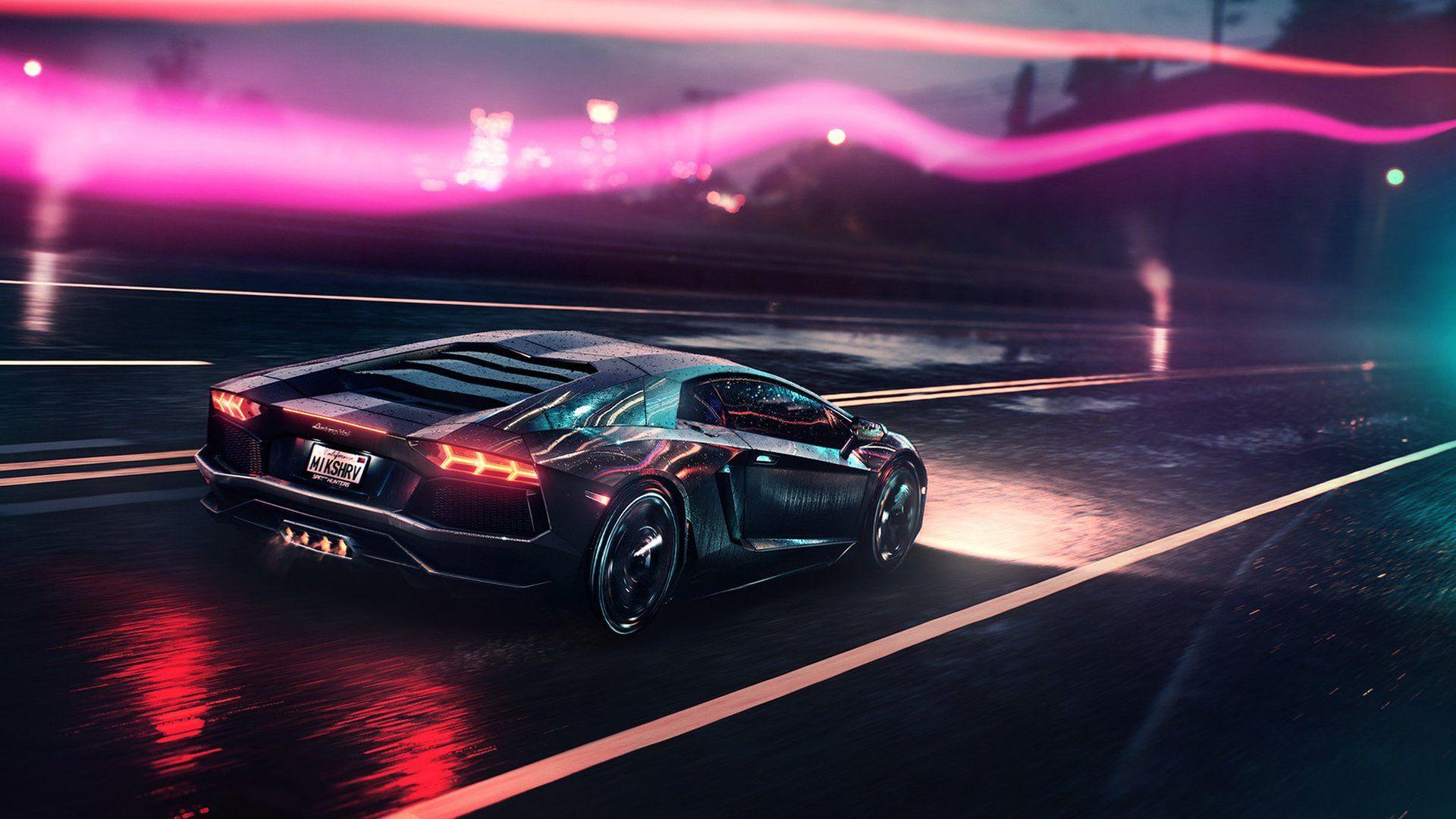 Vehicles Lamborghini Aventador Lamborghini Car Vehicle Artistic Night Sport Car Supercar Wallpaper Lamborghini Aventador Lamborghini Voiture