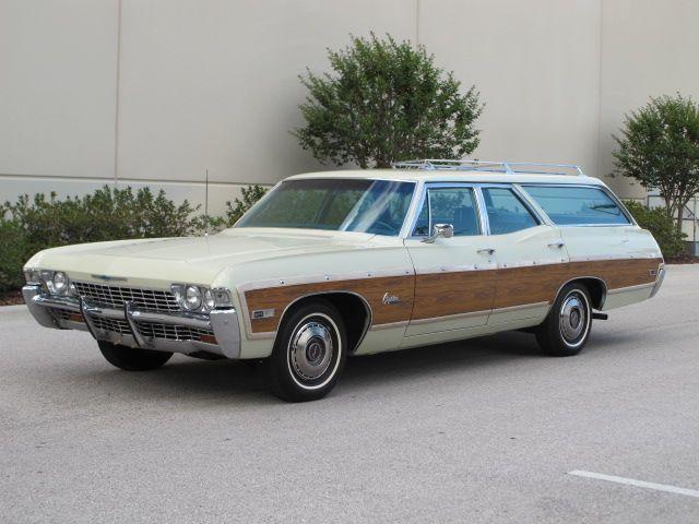 1968 Chevrolet Kingswood Estate Wagon Chevrolet Caprice