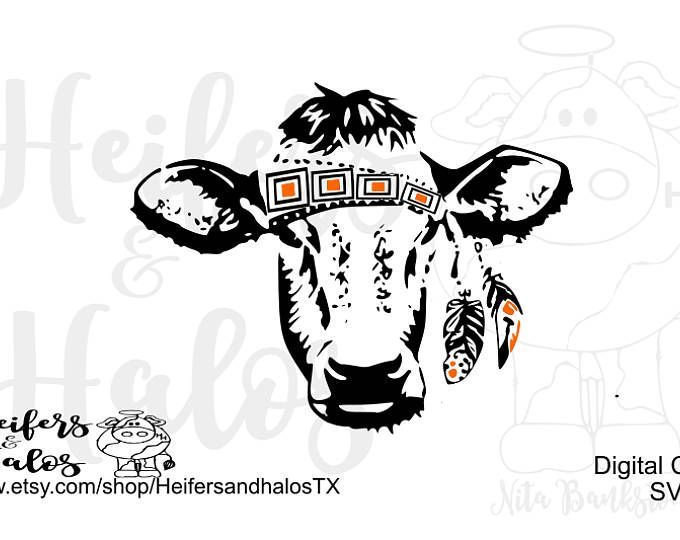 Gypsy Calf Svg Dxf Png Pdf Eps Cut File For Cricut And