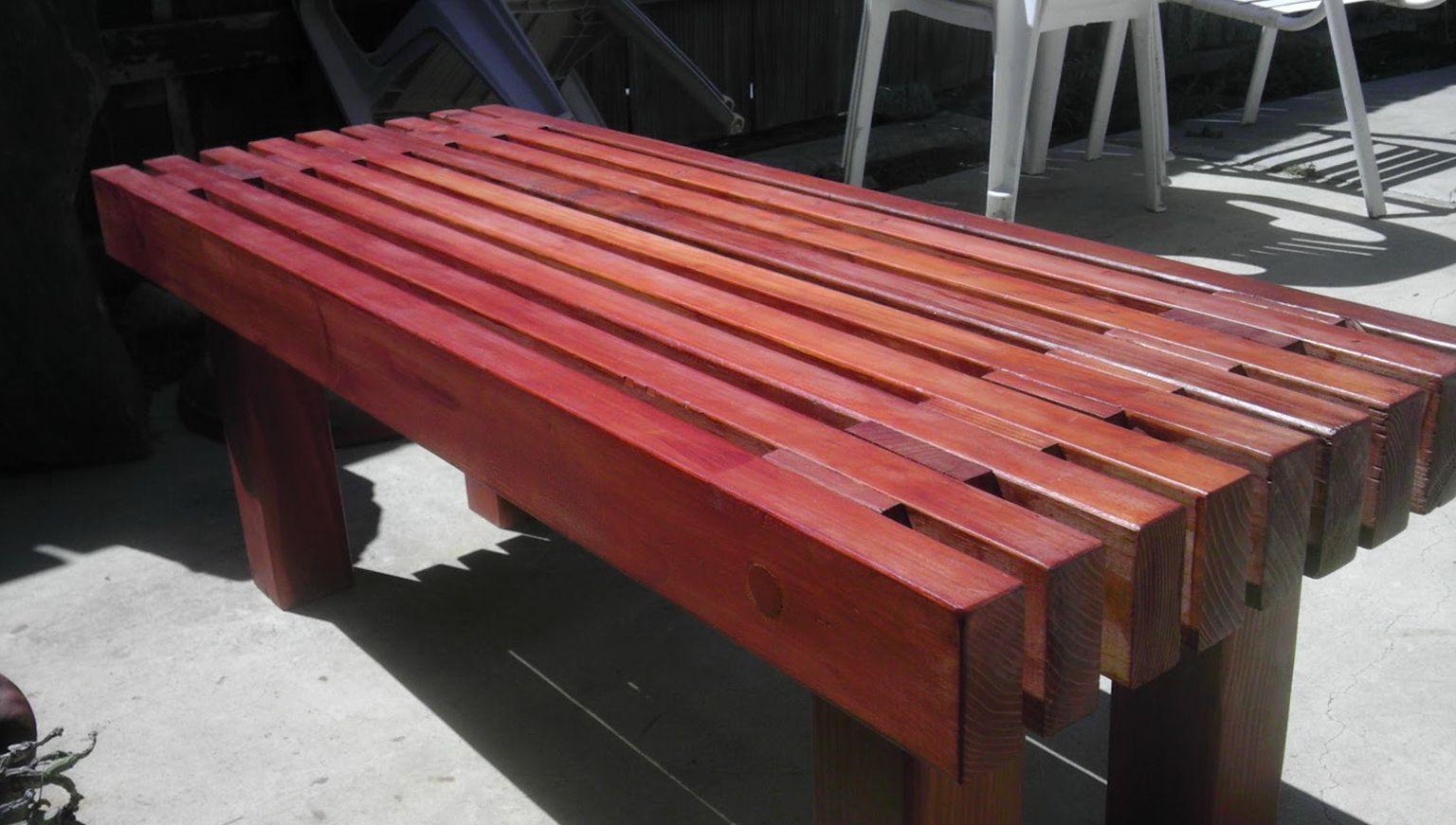 Diy outdoor wood bench wooden bench outdoor wood bench