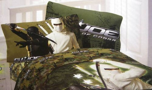 Full G I Joe Rise of The Cobra Sheet Set | eBay