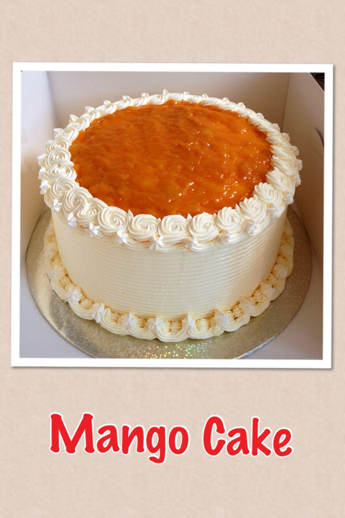 Mango cake Mango cake, Cupcake cakes