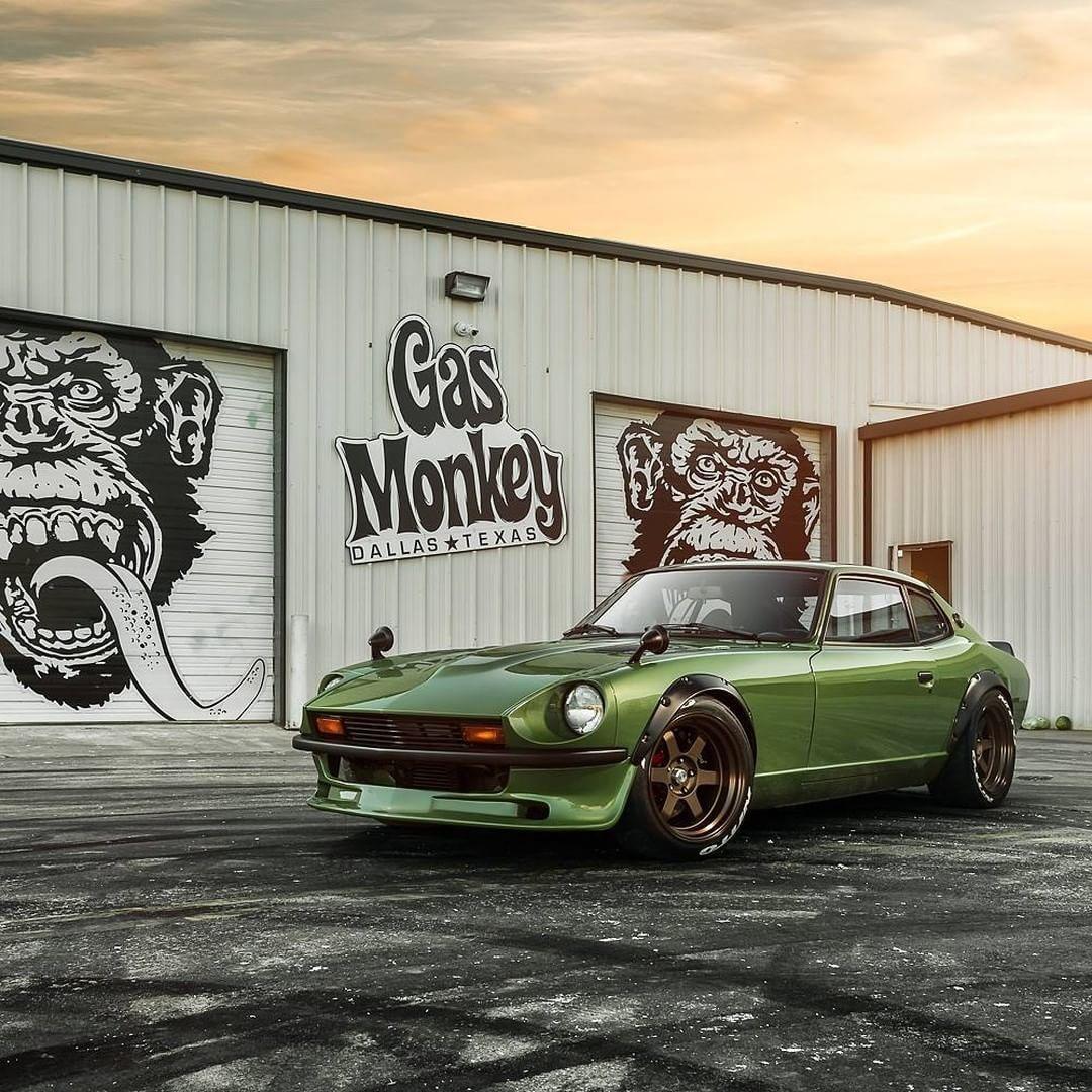 Gas Monkey Garage Rally Car: Gas Monkey Garage's First Import Tuner Build, 1975 Datsun