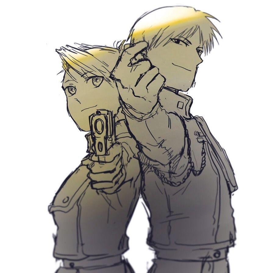 Riza and Roy