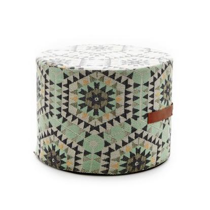 Heavenly honeycomb ottomaani, vihreä