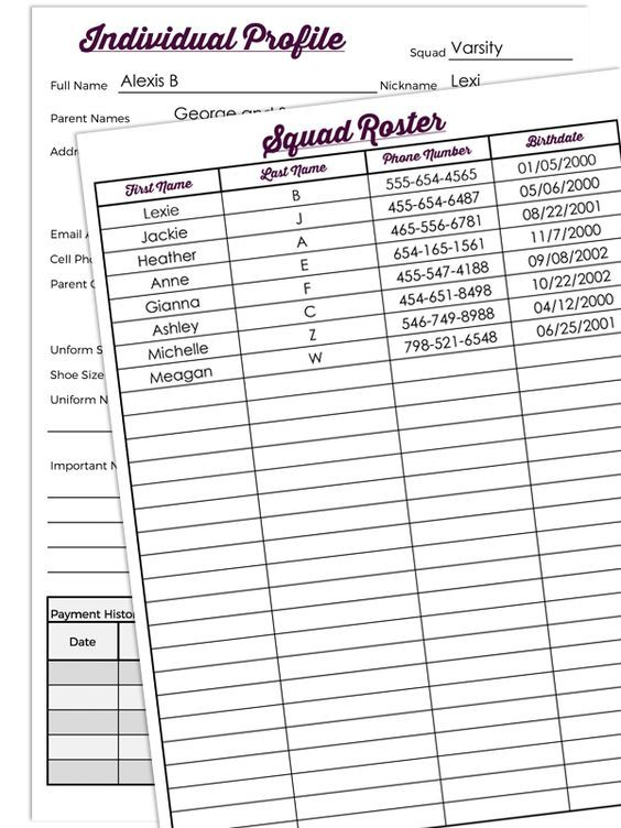 Cheer Coach Organization Diy Coaches Binder  Cheer Coaches