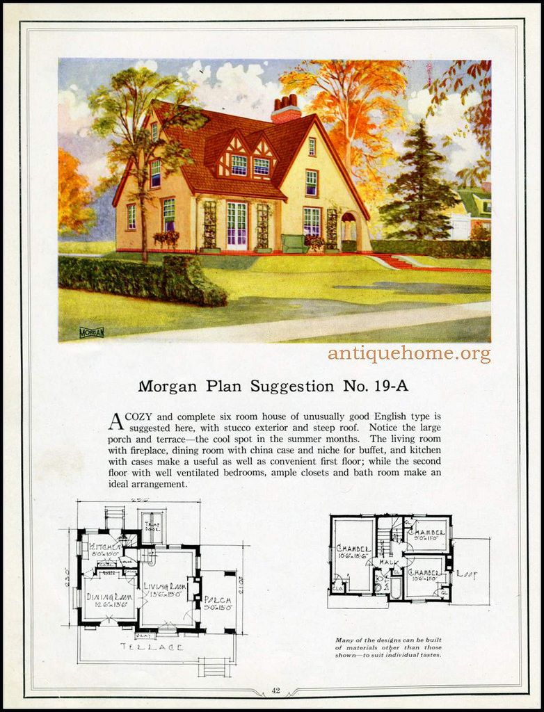 https://flic.kr/p/HPPbKB | Morgan House Plan Suggestions::Building with Assurance | Building with Assurance - 1923 www.antiquehome.org