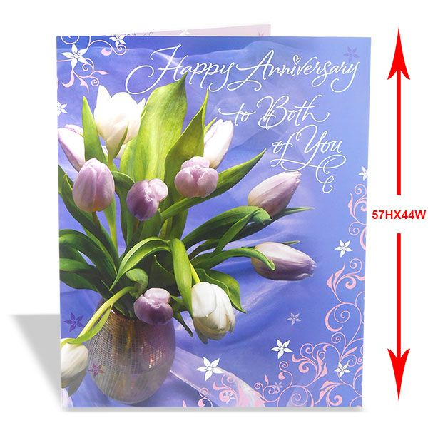 Buy This Appealing Anniversary Jumbo Card For Your Friend From Archiesonline To Make More Stronger Your Relation Beautiful Greeting Cards Online Gifts Cards