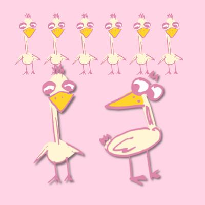 Funny Birds Free Digital And Printable Scrapbooking Embellishment
