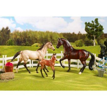 Breyer Classics Sport Horse Family Toy Set- I had a bunch of these horses! So much fun back in the day!