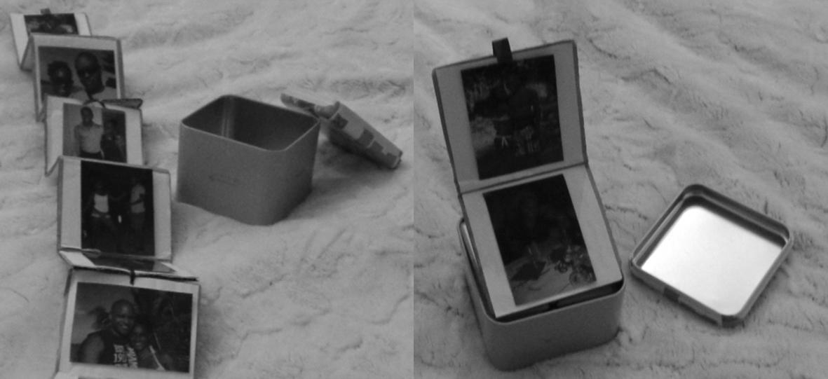 Boite à souvenirs st valentin DIY