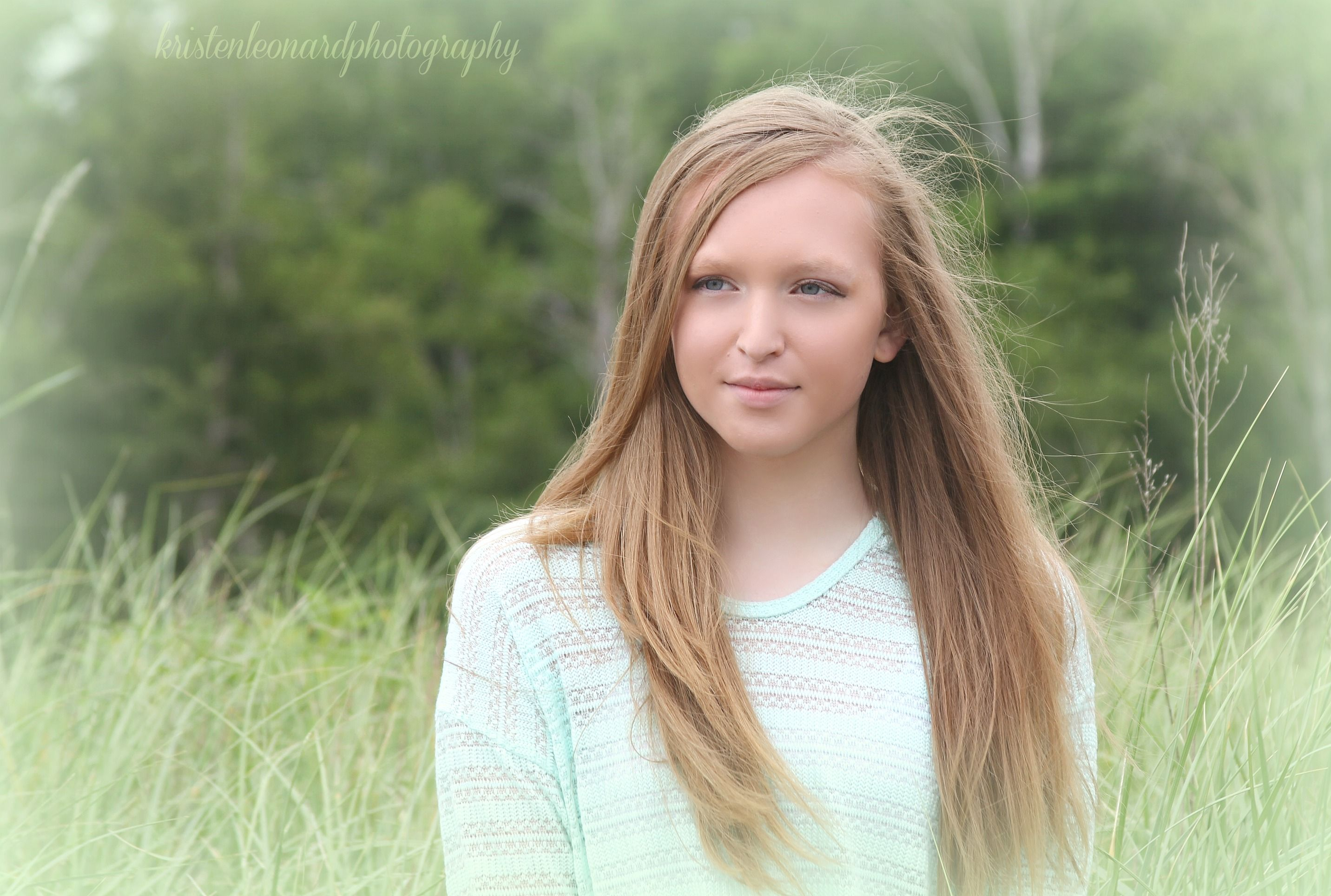 Maine teen portraits Sandy Point Maine Kristen Leonard