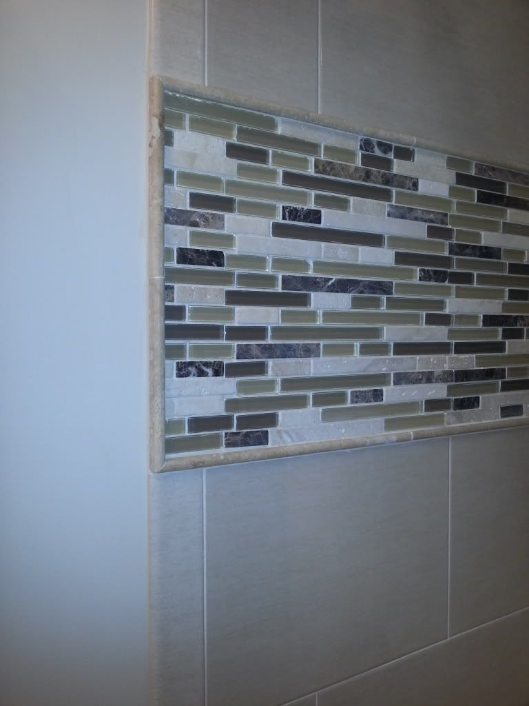 Pencil Tile Border Bathrooms Remodel Tiles Remodel
