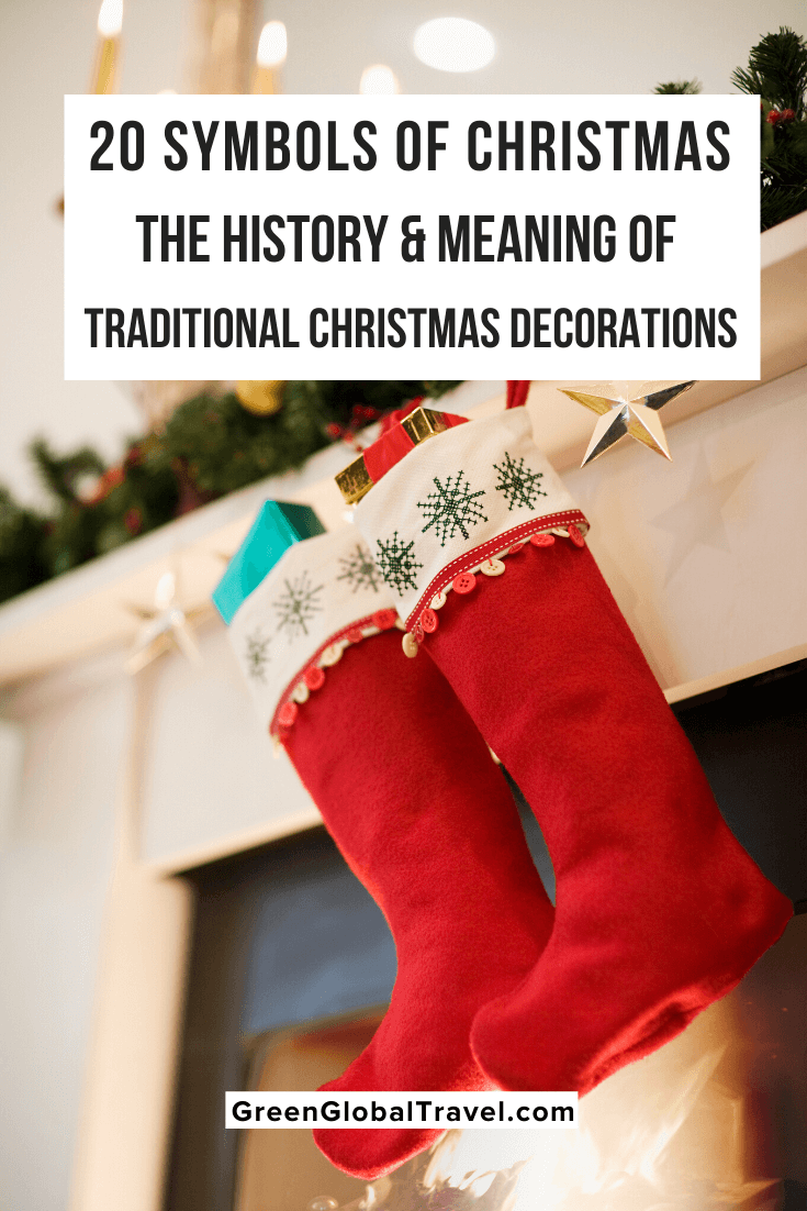 20 Symbols Of Christmas History Meaning Of Xmas Decorations Christmas Tree Star Topper Traditional Christmas Decorations Hanging Christmas Stockings