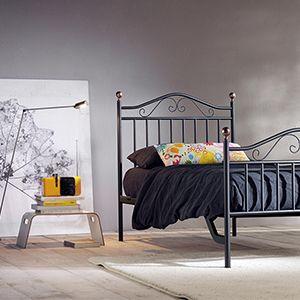 Cameretta - letto singolo con ferro battuto | CAMERETTA | Pinterest ...