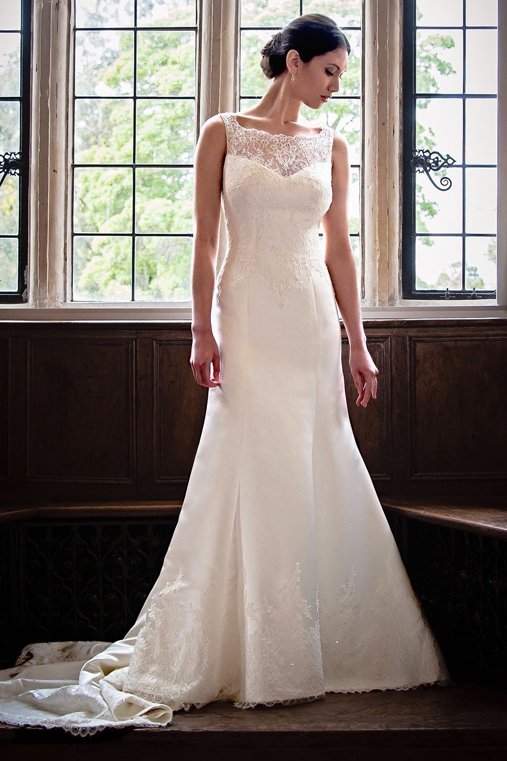 Cheap bride dresses london