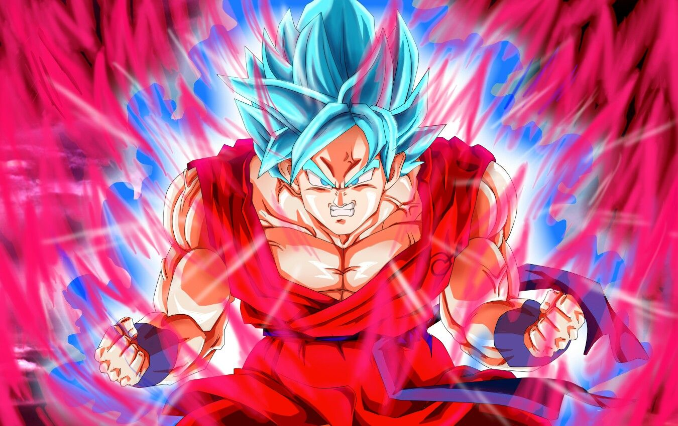 Goku Ssgss Blue Kaioken X20 Dragon Ball Super Manga Goku Super