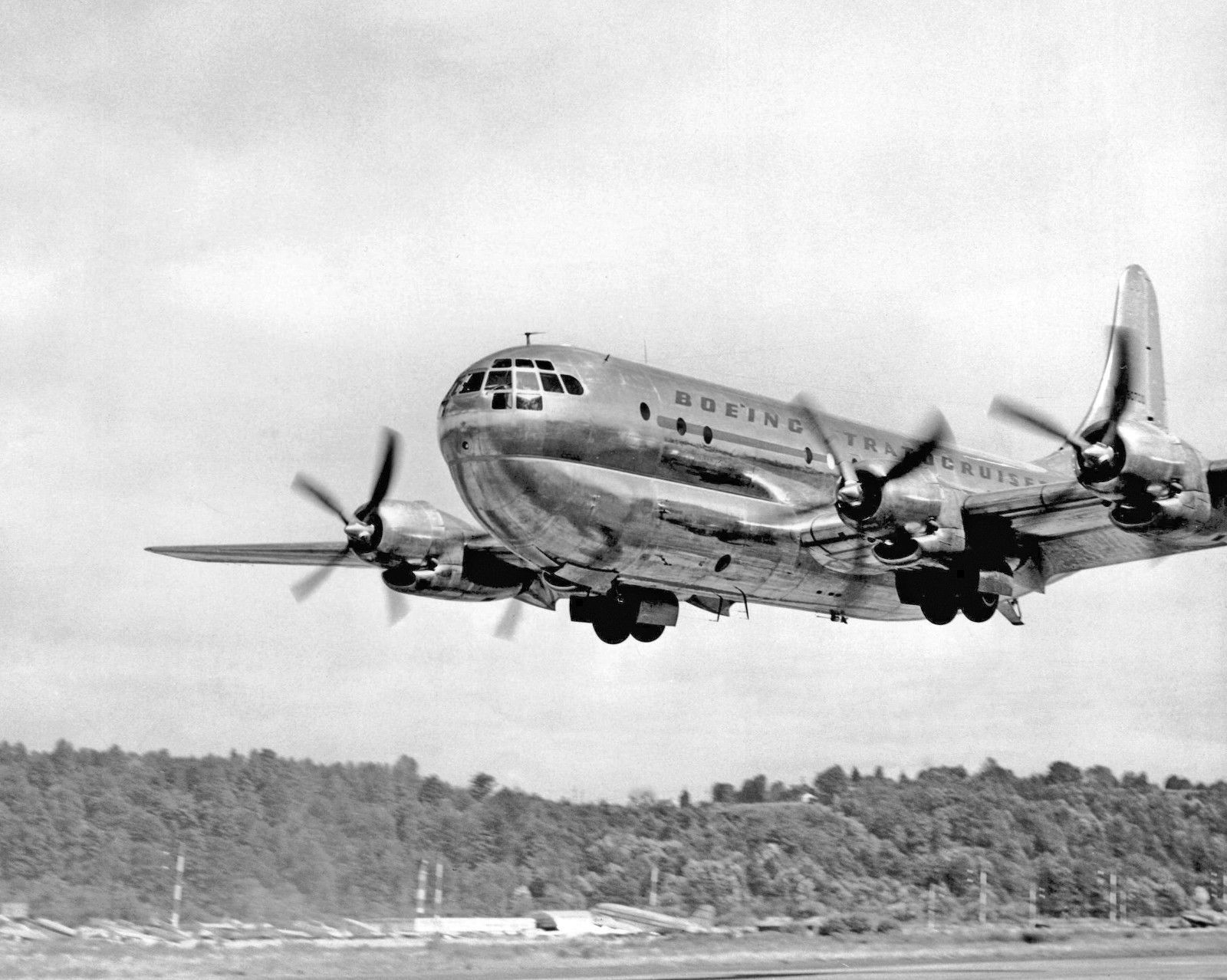 Boeing 377 Stratocruiser Prototype | Boeing | Aircraft