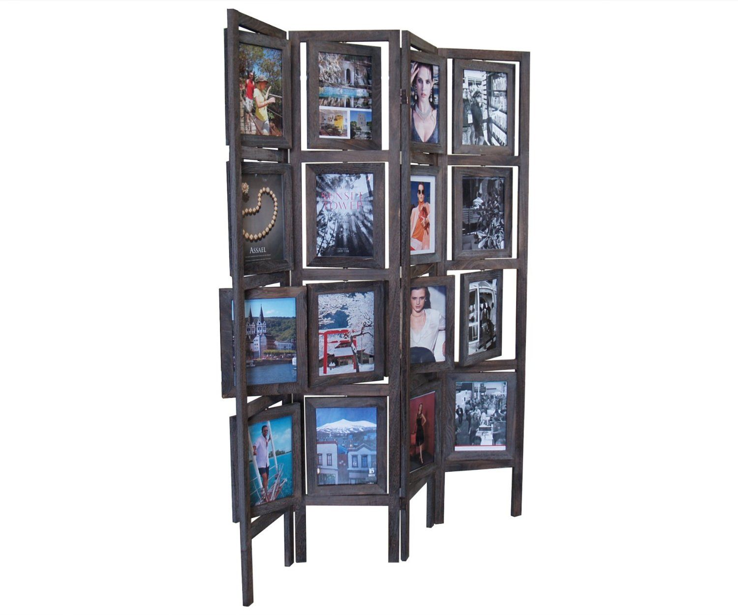 Floor Standing Photo Frame Room Divider Privacy Screens