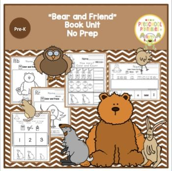 Bears New Friendby Karma Wilsontheme Of The Book Look For New