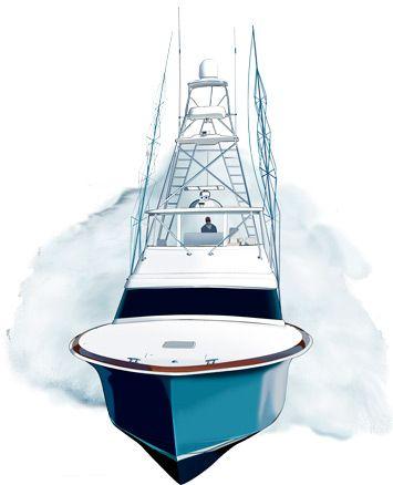 Hatteras Yacht Photoshop Illustration Http Www Spiritgraphix Com Clipart Sport Fishing Boatsyachts Sport Fishing Sport Fishing Boats Boat Painting