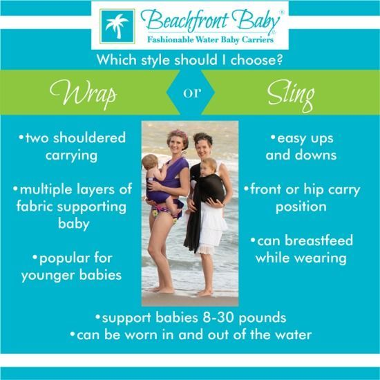 Beachfront Baby Water Wrap Baby Carriers Babywearing Pinterest