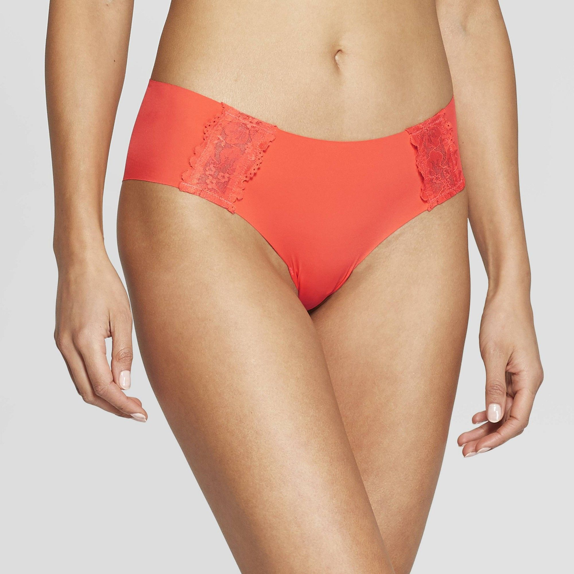 149dade66bb Women's Laser Cut Cheeky with Lace - Auden Cabana Orange XS in 2019 ...
