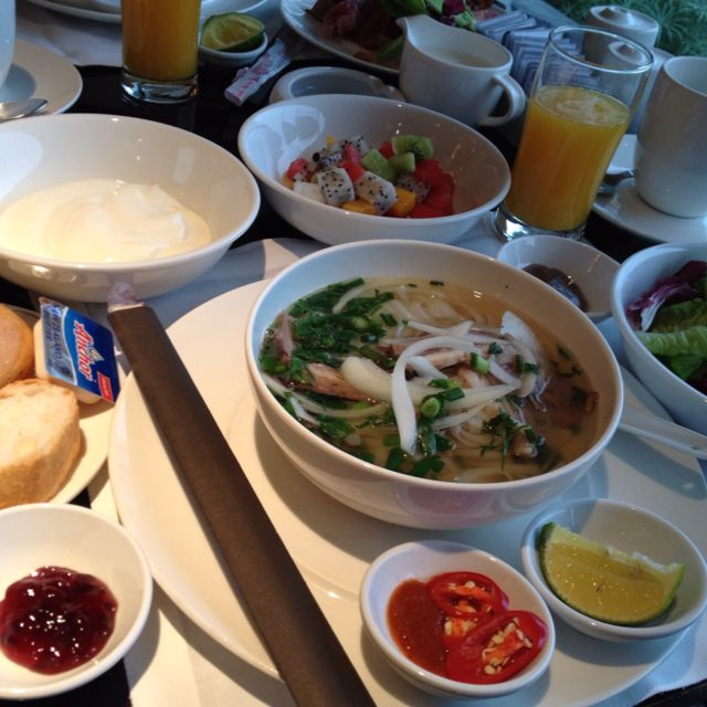My breakfast@the InterContinental Hanoi Westlake-I eat a lot!