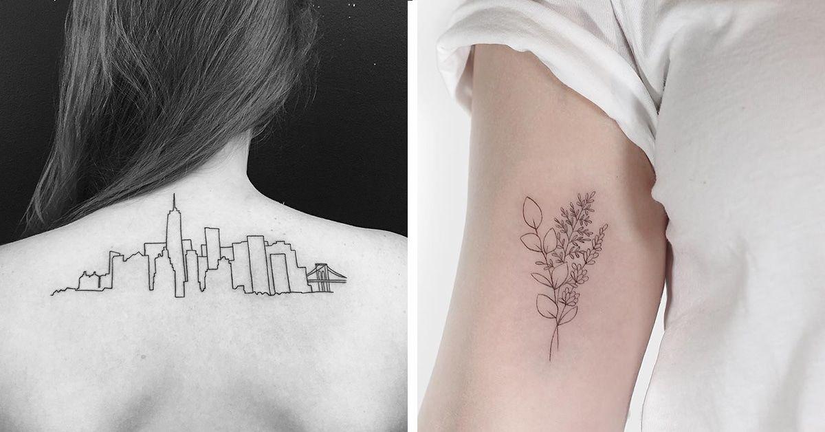 25 Minimalist Tattoo Ideas That Prove Less Is More Minimalist Tattoo Full Body Tattoo Tattoos