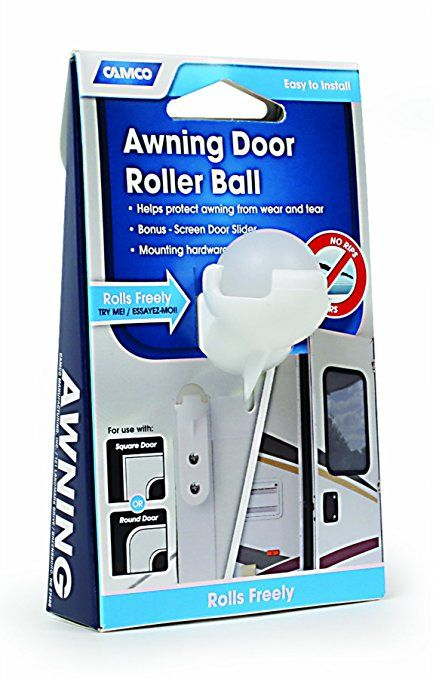 Amazon Com Camco 42005 Awning Roller Ball With Screen Door Slide Automotive Camco Screen Door Screen Door Rollers