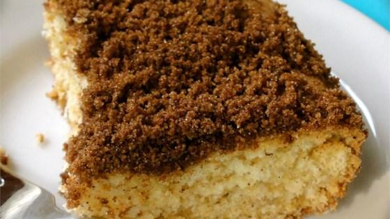 Make Ahead Sour Cream Coffee Cake Recipe In 2020 Sour Cream Coffee Cake Coffee Cake Food