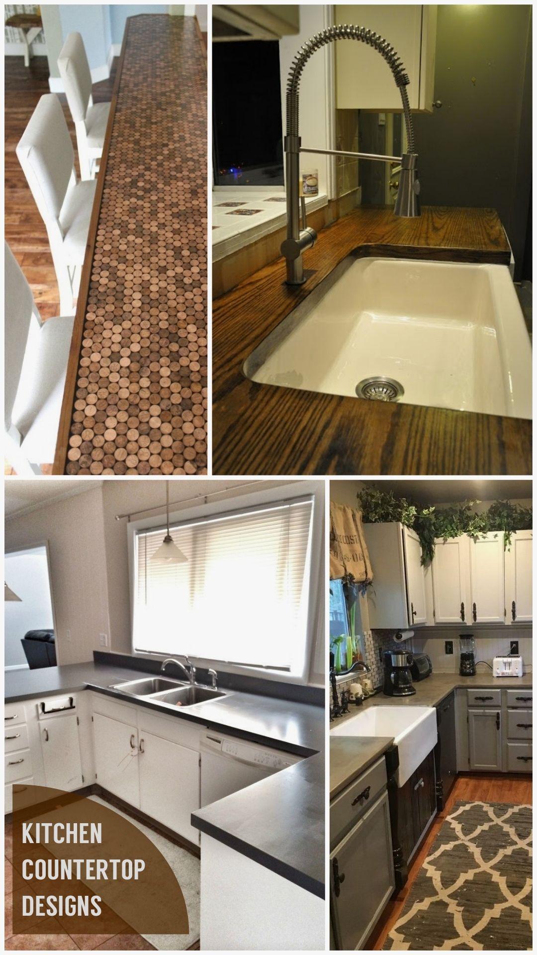 Best Kitchen Countertop Ideas In 2020 Diy Kitchen New Kitchen Diy Kitchen Backsplash Designs