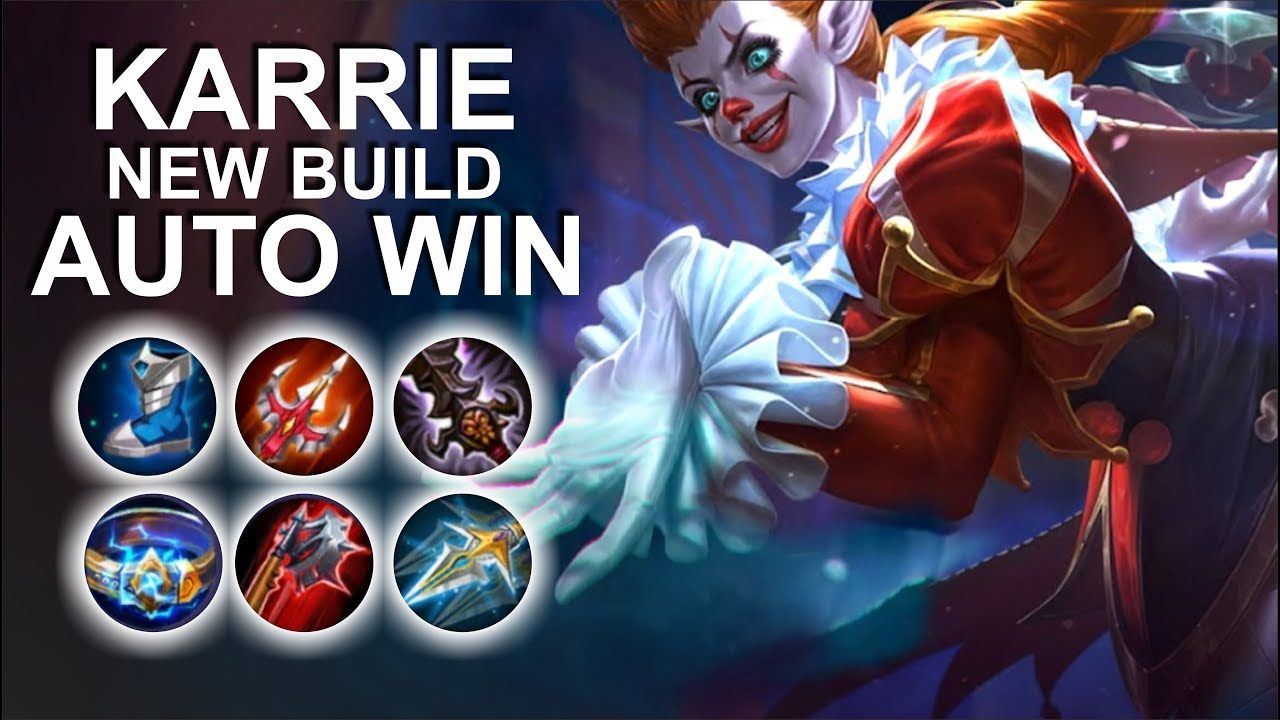 KARRIE NEW BUILD AFTER NERF 2019, MOBILE LEGENDS | Mobile