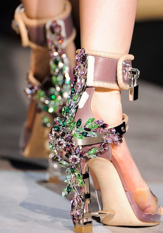 f53158c98ab764 ... Rhinestone Sandals High Heel Lock Design Ankle Boots Shoes Women.     RUNWAY Dsquared Dsquared2 Virginia Embellished High Heel Jewel Sandals   Rihanna