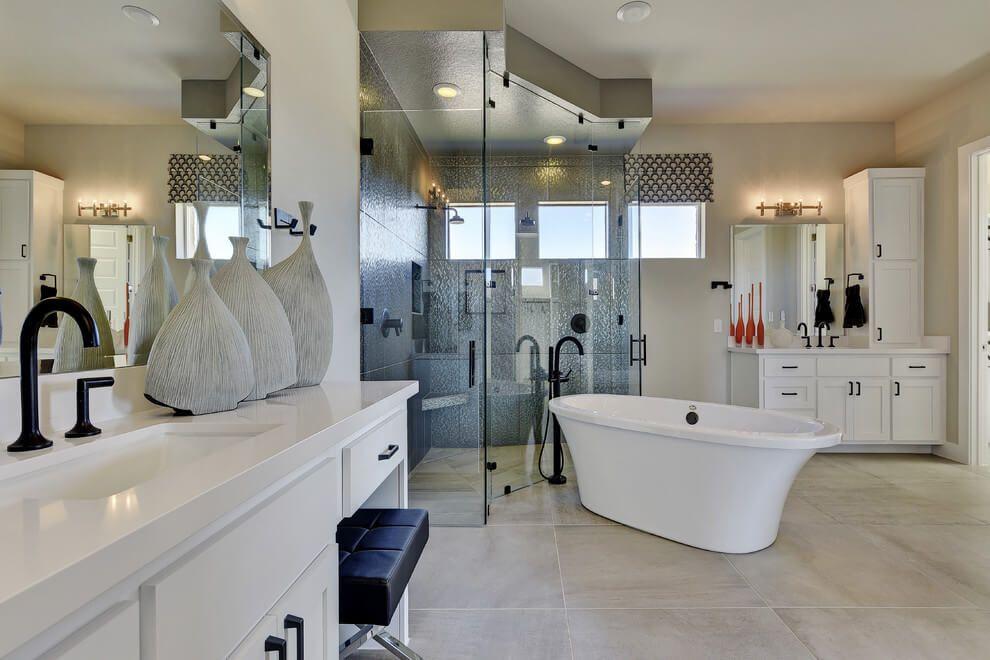 Abrantes Model Home By Scott Felder Model Homes Bathroom Design