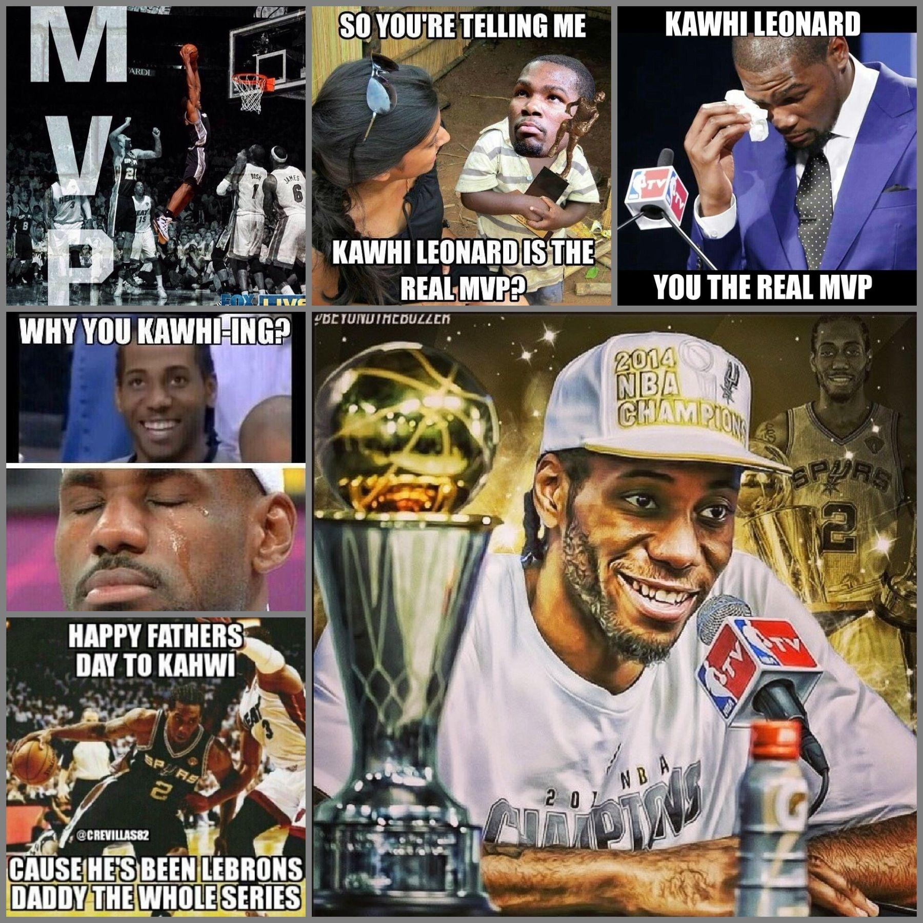 Finals Mvp Kawhi Leonard Sports Memes Mvp Sports