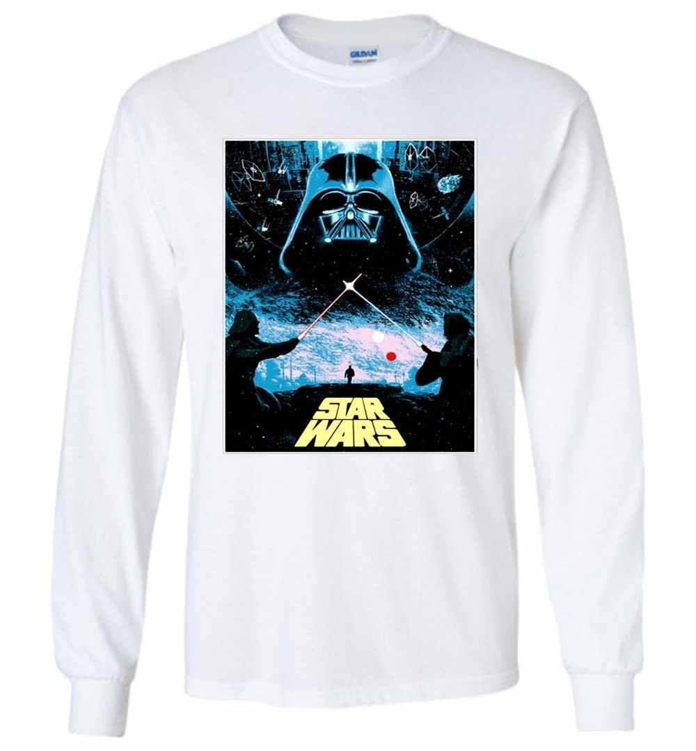 Darth Vader Star War Long Sleeve T Shirt In 2021 Long Sleeve Tshirt Sweatshirt Shirt Shirts [ 1080 x 1000 Pixel ]