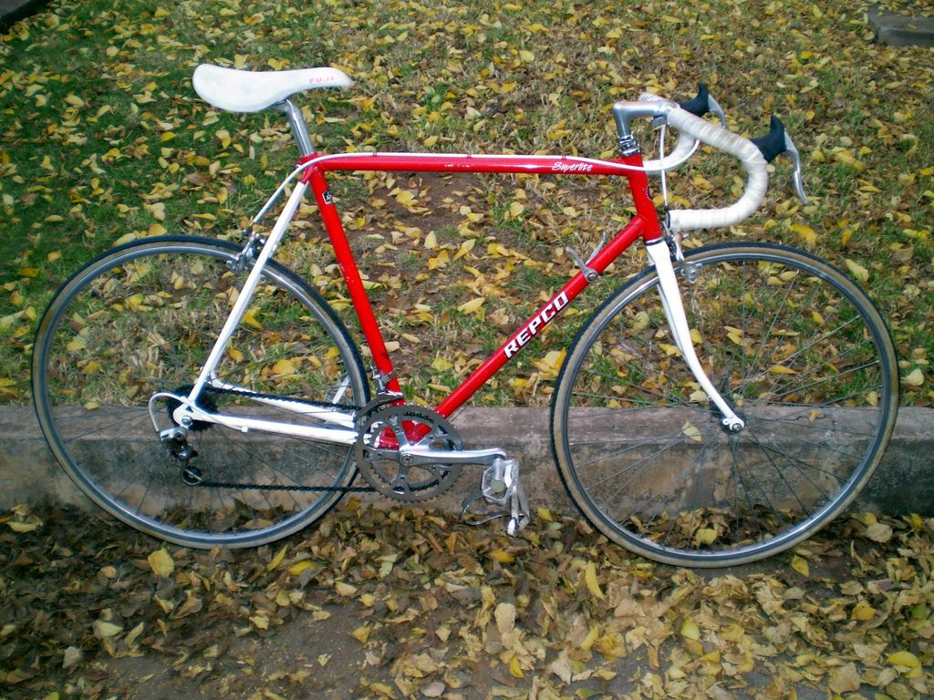 Red & White Repco Superlite | Bicycles | Bicycle, Cycling