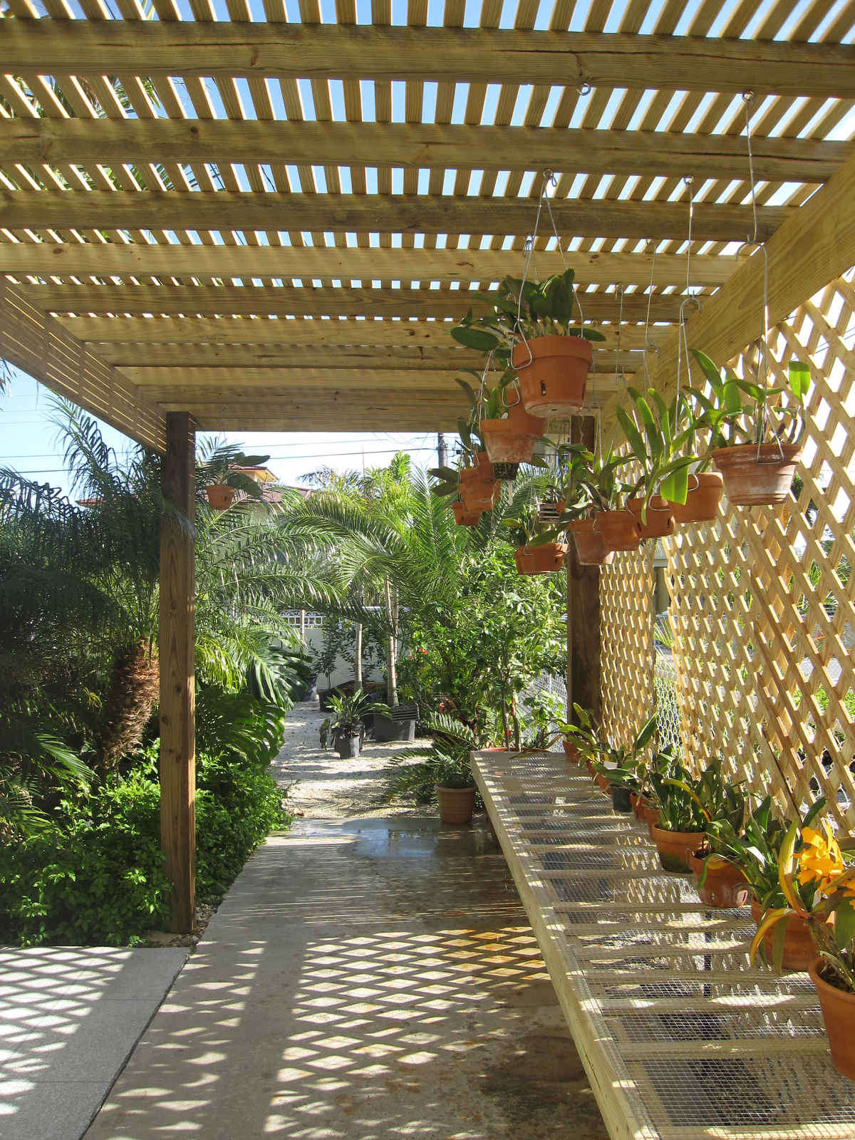 how to make shade for plants