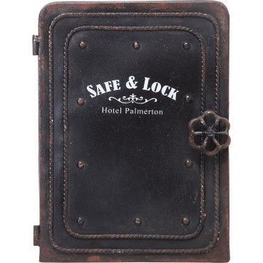 Armoire A Clefs Vintage En Metal Safe Kare Design Boite A Cles Armoire A Cles Boite A Clefs