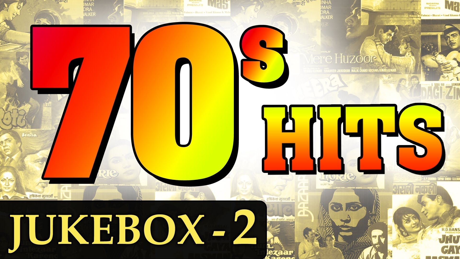 Best of 70's - Jukebox - 2 - Non Stop Bollywood Old Hits