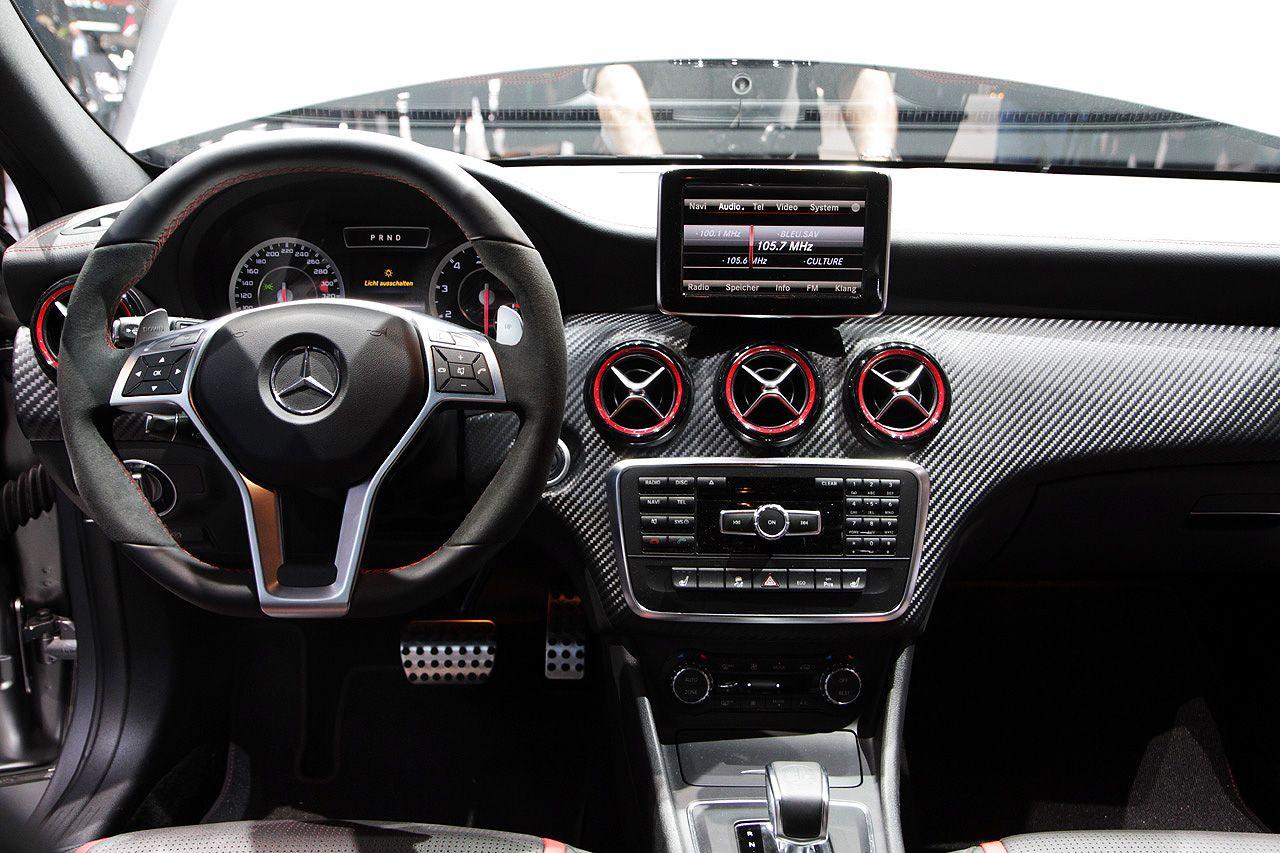 2014 Mercedes Benz A45 Amg Interior A45 Amg Mercedes Benz Mercedes