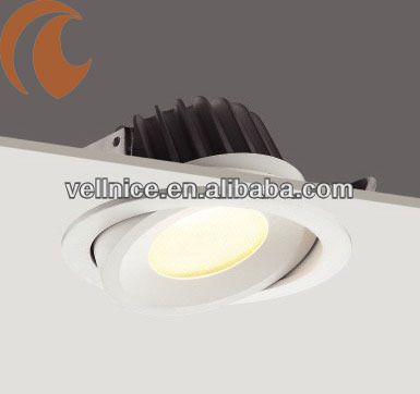 Small Adjustable 13w Citizen Cob Led Recessed Downlight Led Light Competitive Price High Power Led Downlight 00 Downlights Led Beams
